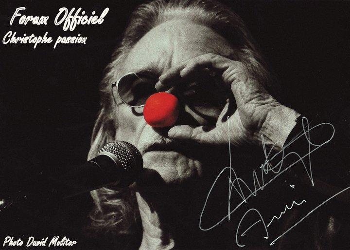 Christophe fait le clown par  Bohumila Pohl Brésil une fan. 16718210