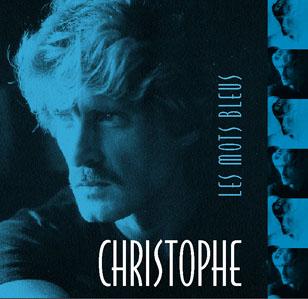 Dreyfus shop Album Christophe Les Mots Bleus 36169210