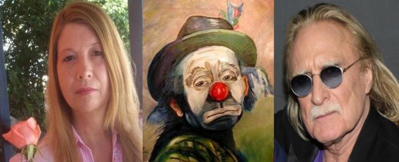 Christophe fait le clown par  Bohumila Pohl Brésil une fan. Doc1310