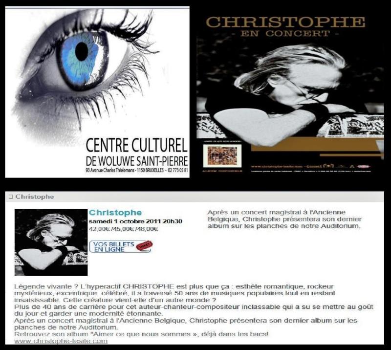 01/10/2011 - Centre Culturel de Woluwé St-Pierre  (BE) (Belgique) Doc2g111