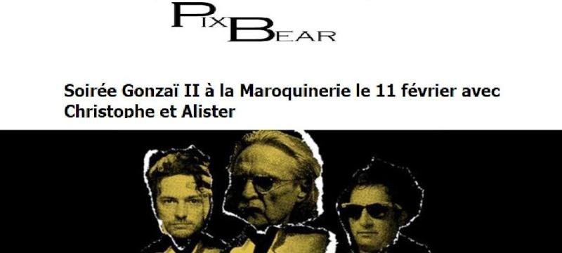 Soirée Gonzaï II à la Maroquinerie le 11 février avec Christophe et Alister Doc3017