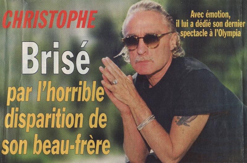Christophe Brisé par l'horrible disparition de son beau-frère. Image118