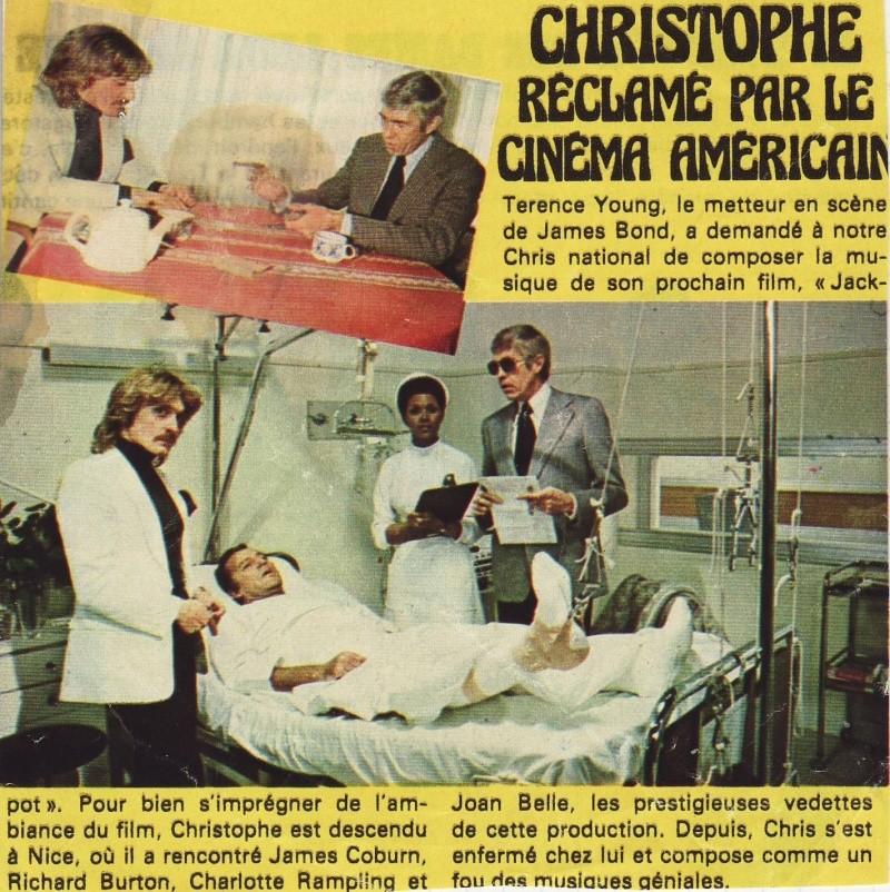 """Christophe le film inachevé de Terence Young """"Jackpot"""" de 1975 Image119"""