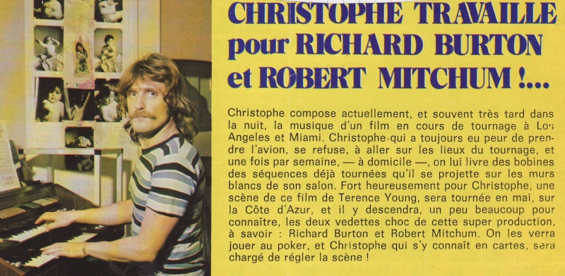 """Christophe le film inachevé de Terence Young """"Jackpot"""" de 1975 Image120"""