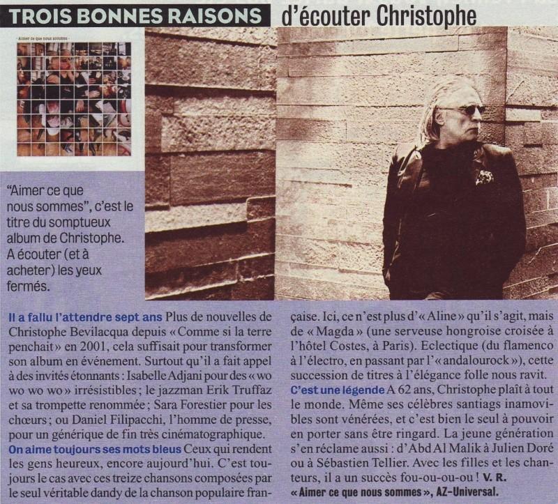 Trois bonnes raisons d'écouter Christophe Image142
