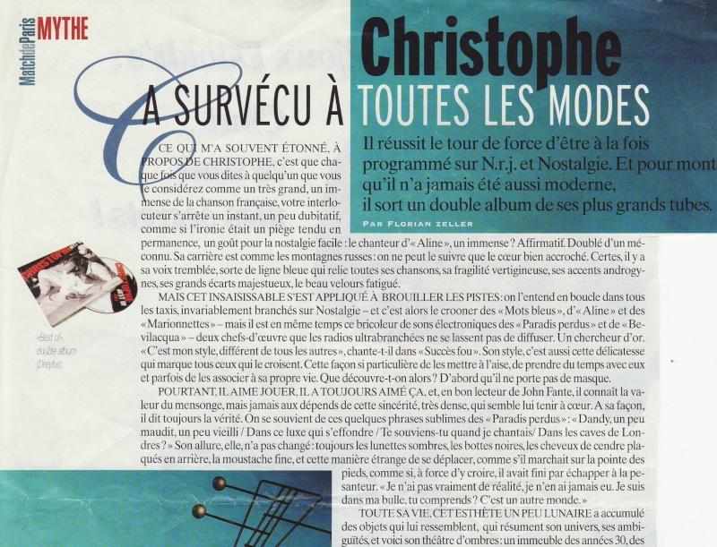 Christophe a survécu à toutes les modes Image155