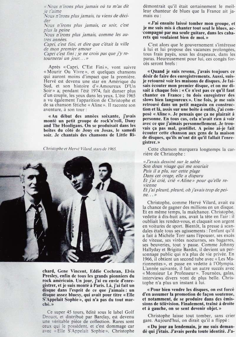 Christophe et Hervé Vilard stars de 1965 Image173