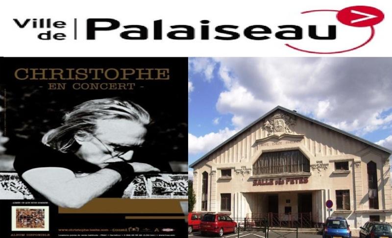 13/10/2011 - Christophe en Concert Salle des Fêtes de  Palaiseau  Logo_p11
