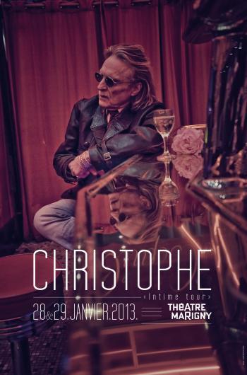 Christophe et son « Intime Tour » au Théâtre Marigny en 2013 Specta10
