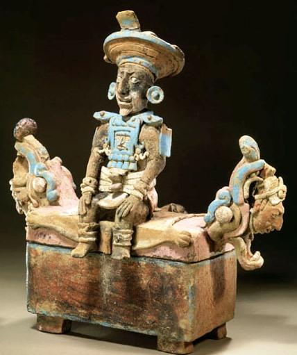 Descifran enigma de pigmento maya Maya-b10