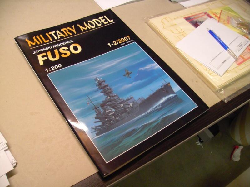 Jap. Schlachtschiff FUSO in 1:200 Halinski gebaut von Millpet   Pict2814