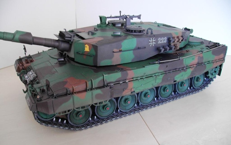Panzer Leopard 2A4 in 1:16 GPM Galeriebilder Pict9775