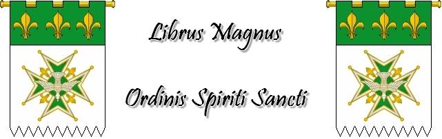 Librus Magnus Ordinis Spiriti Sancti Codexs10