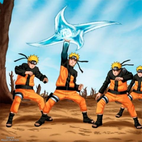 Naruto vs Kakashi vs Yondaime vs Majin Buu 51240310