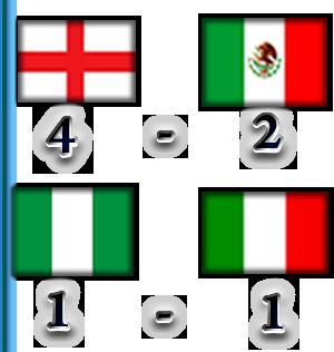 TABLA DE POSICIONES Result12