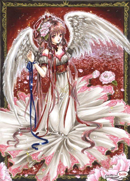 Imagenes de angeles anime y manga Angels10