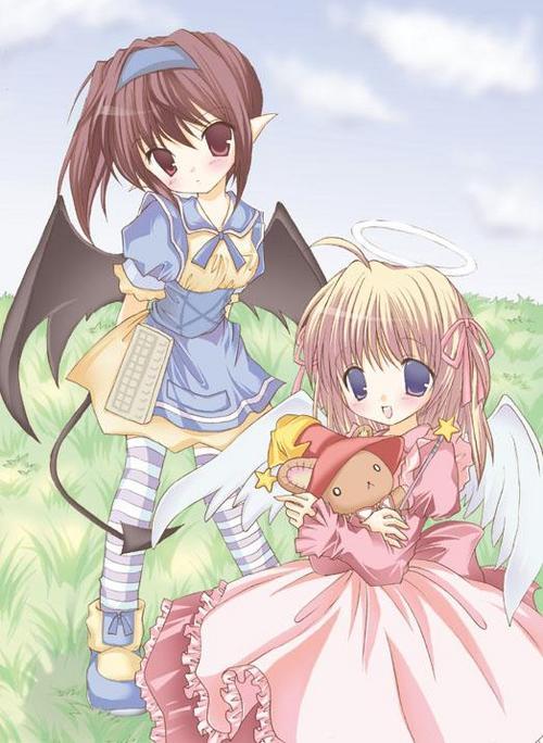 Imagenes de angeles anime y manga Normal13
