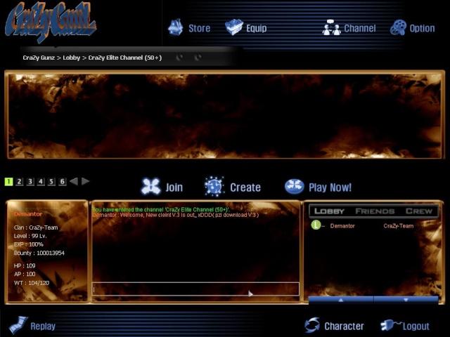 Our new client V.3 + update!! Gunz0711