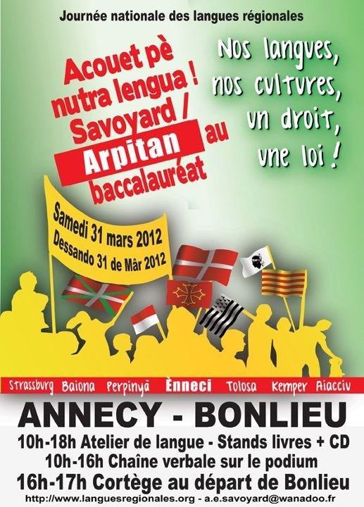 La journée nationale des langues régionales Arp1010
