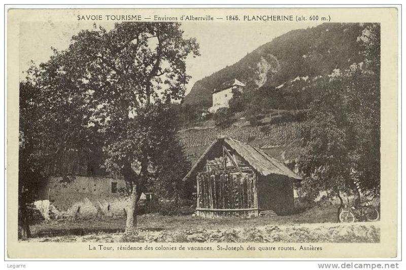 La Tour Gaillarde ou Tour de Plancherine Planch11