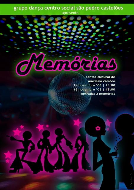 """Espectáculo de Dança """"Memórias"""" Cartaz11"""