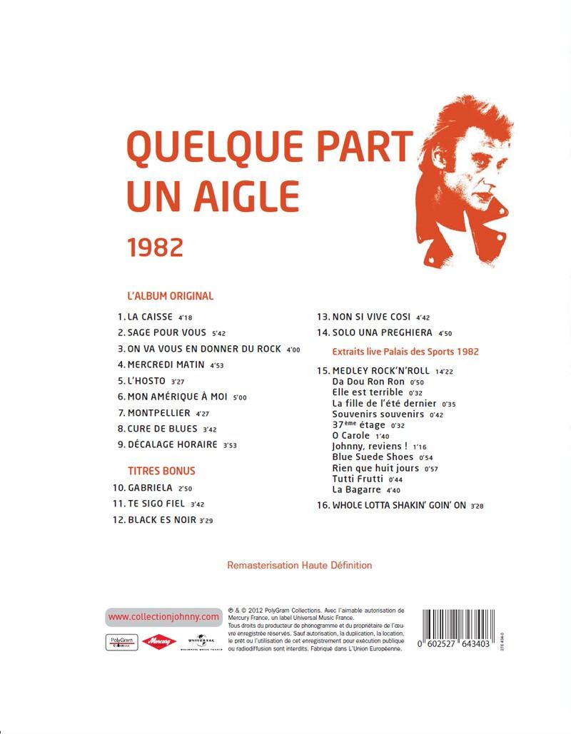 N° 30 1982 Quelque part un aigle Jhcol116