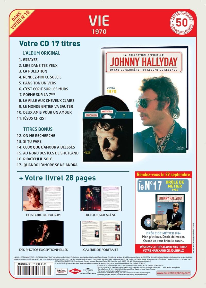 Le N° 16 1970 Vie Jhcoll45