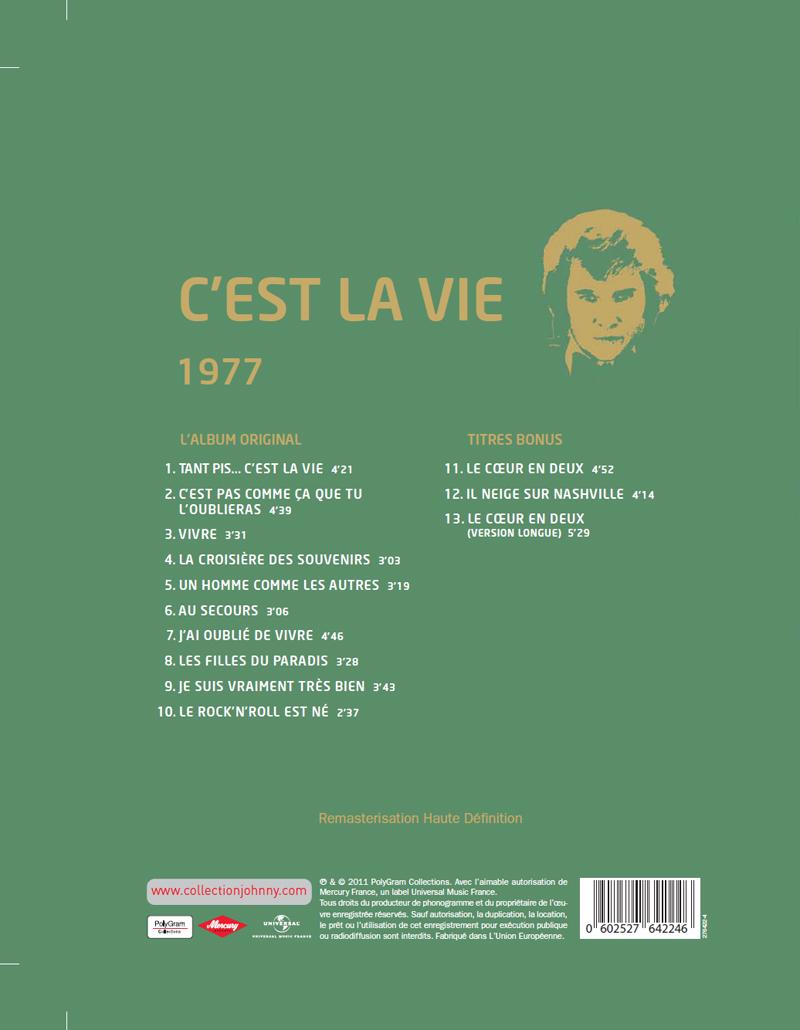 Le N° 19 1977 C'est la vie Jhcoll69