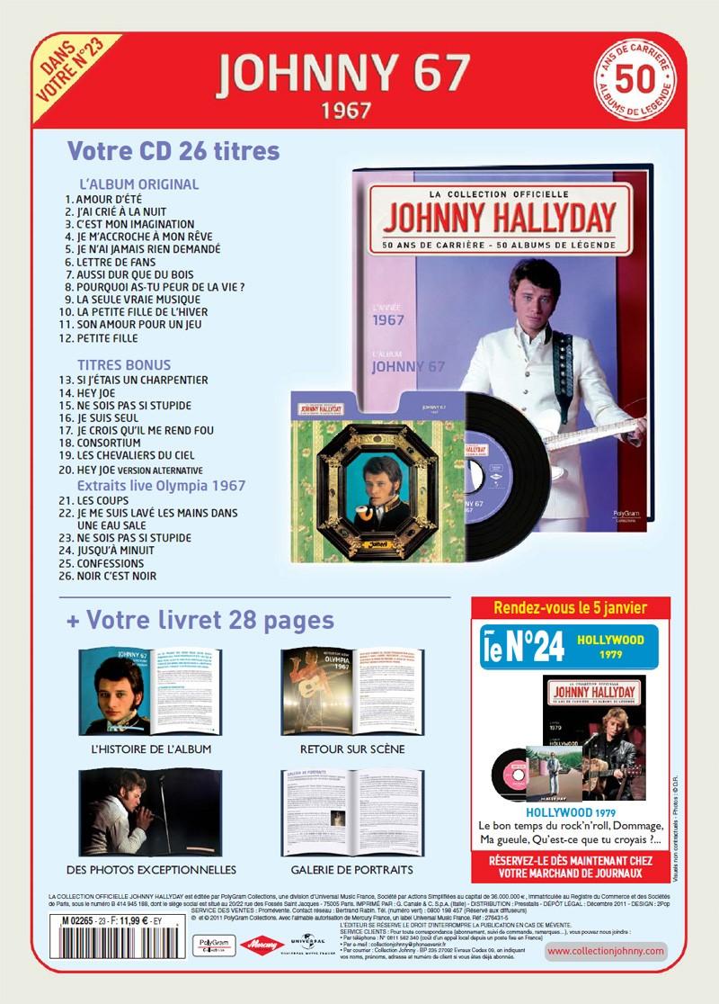 Le numero 23 1967 Johnny 67 Jhcoll84