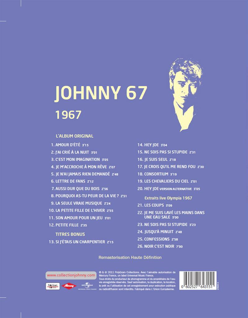 Le numero 23 1967 Johnny 67 Jhcoll86