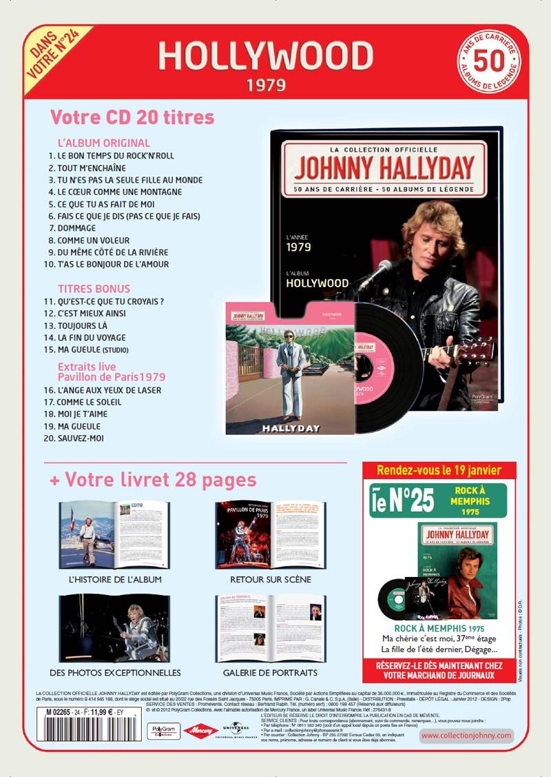 Le numero 24 1979 Hollywood Jhcoll90