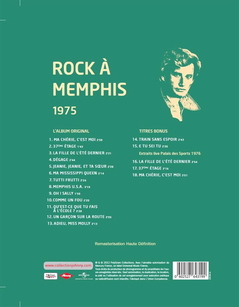 Le numéro 25 1975 Rock à Memphis Jhcoll98