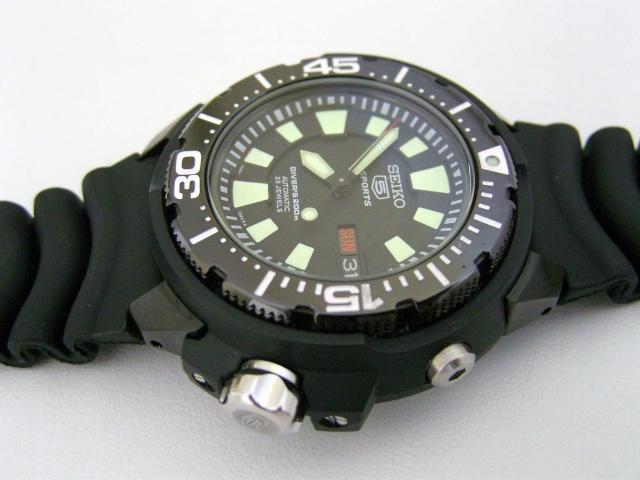 "Seiko 5 SKZ255K1 ""FrankenMonster"" Automatic Diver Snb11510"