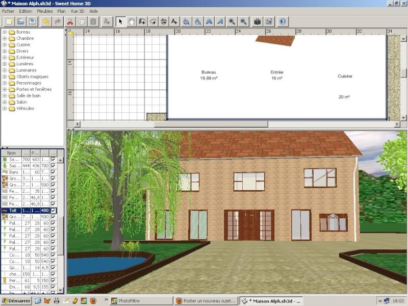 Décors 3D réalistes avec Sweet Home 3D et les autres Exempl41
