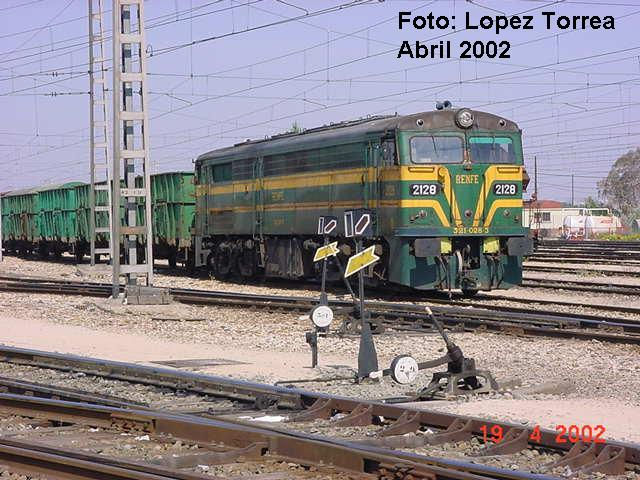 Locomotoras. 321-al10