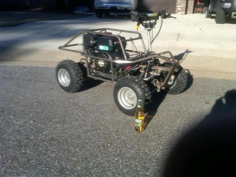 My one seater build Testin12