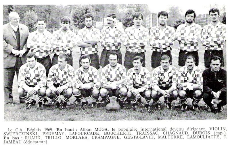 1969 - 8e titre de CDF de l'Union Begles11