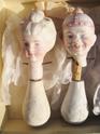 Bisque rocking dolls heads 03310