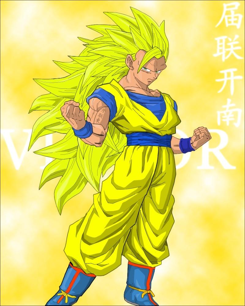 Goku vector 3vec10