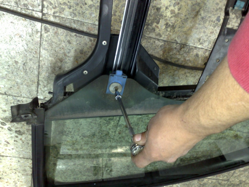 substituir elevador de vidros da A6 Foto2610
