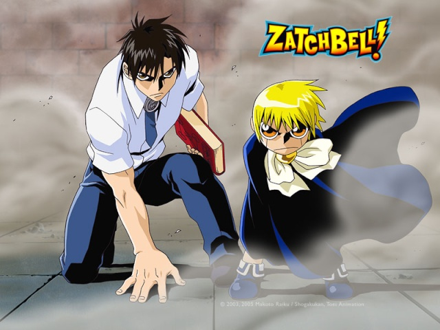 Zatch Bell Wall1_11