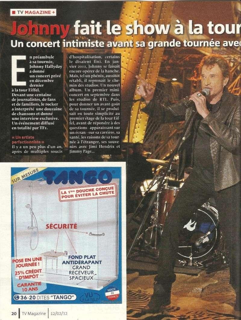 Johnny dans Tv Magazine 00127