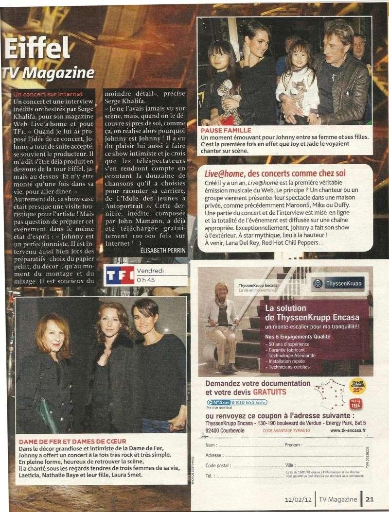 Johnny dans Tv Magazine 00218