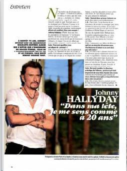 Johnny dans la presse 2018 - Page 3 Gala10