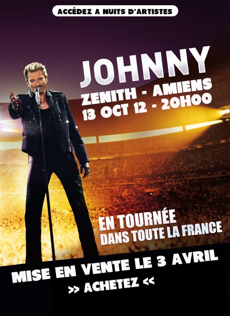 Les nouvelles dates de concerts de Johnny : Hallyd11