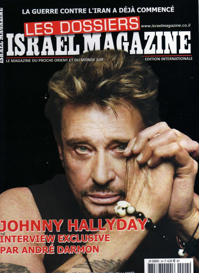 Johnny dans la presse 2018 Israel10