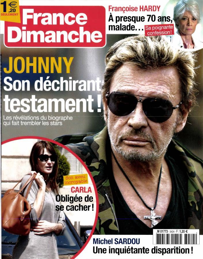 Johnny dans la presse 2018 M177310