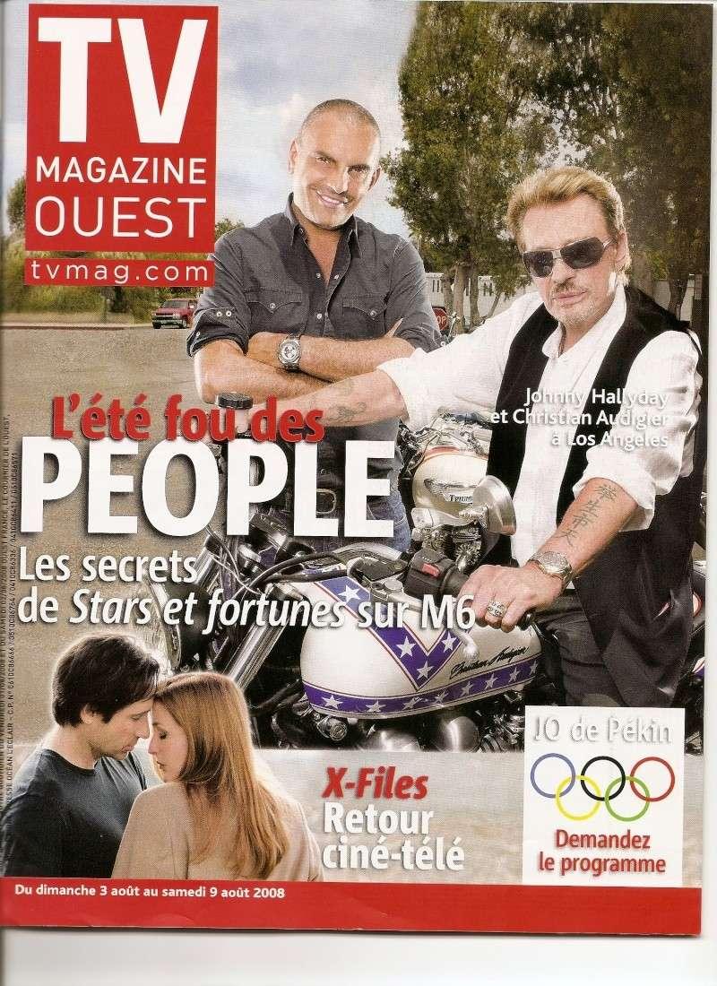 Johnny en couverture de Tv Magazine Numeri20