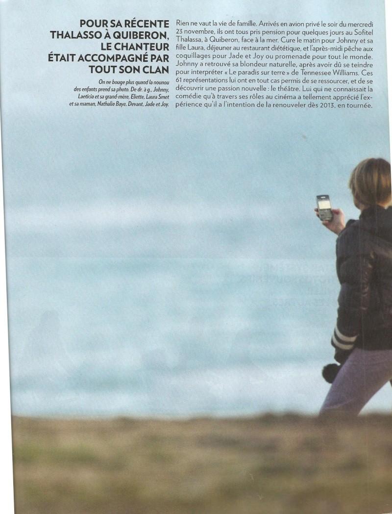 4 pages dans Paris-Match Pm011211