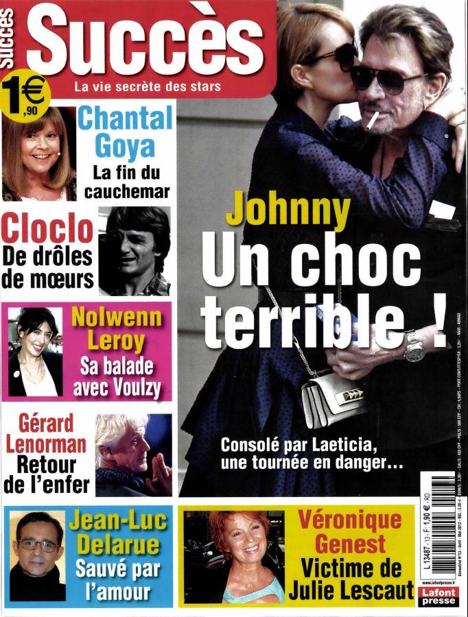 Johnny dans la presse 2018 Succes10
